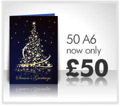 350gsm Matt Laminate Greeting Cards