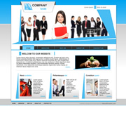 Buy this Classy Business Style Website Template now!